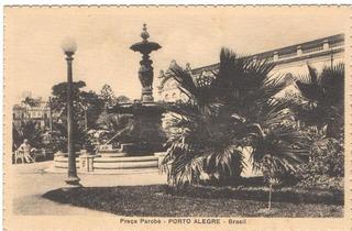 Cartão Postal - Porto Alegre/rs - Praça Parobé