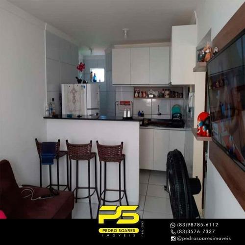 ( R E P A S S E ) Apartamento Com 2 Dormitórios À Venda, 50 M² Por R$ 79.000 - Valentina De Figueiredo - João Pessoa/pb - Ap3069