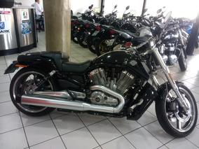 Harley Davidson V Rod Muscle Preta 2012