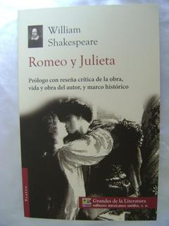 A3 Romeo Y Julieta- W Shakespeare- Grandes Literatura- 2014