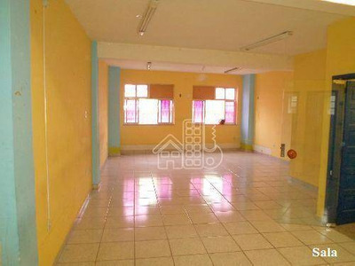 Sobrado Com 1 Dormitório Para Alugar, 74 M² Por R$ 1.300/mês - Centro - Niterói/rj - So0001