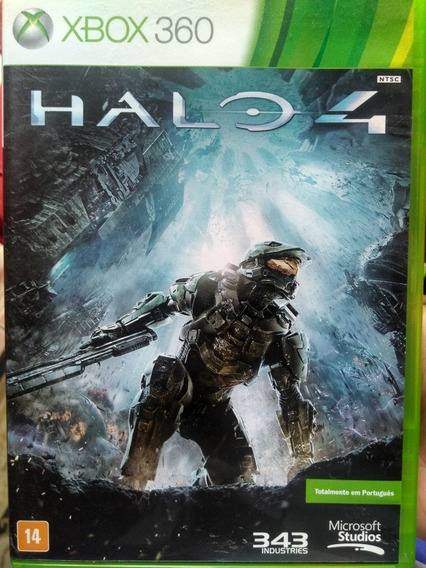 Halo 4 Xbox 360 Midia Fisica Original , A Pronta Entrega