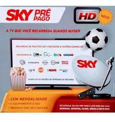 Promoção Sky Pré Pago