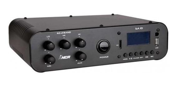 Receiver Amplificador Compacto Nca Sa 10 Usb Sd Card