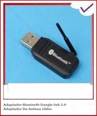 Adaptador Bluetooth Dongle Usb 2.0 Adaptador De Antena 100m
