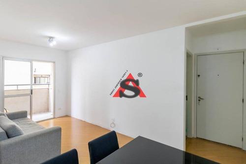 Apartamento Com 3 Dormitórios À Venda, 74 M² Por R$ 630.000,00 - Chácara Inglesa - São Paulo/sp - Ap42547