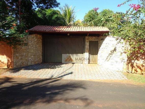 Chácara Residencial À Venda, Condomínio Estância Beira Rio, Jardinópolis. - Ch0056