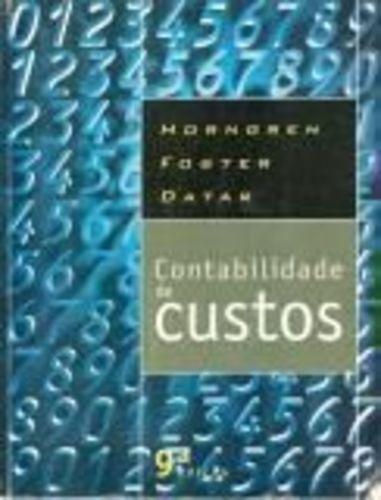 Livro Contabilidade De Custos Horngren Foster Datar