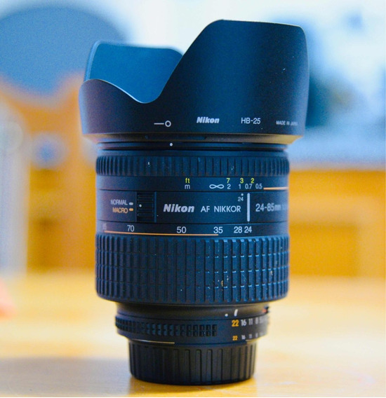 Lente Nikon Af Zoom 24-85mm F/2.8-4d Macro - Muito Nova