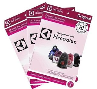 Kit 3 Saco Aspirador Eletrolux One Trio Max Trio Go Com 3 Un