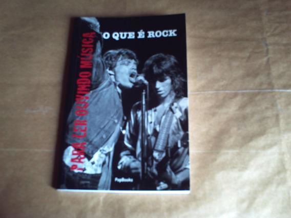 Livro O Que É Rock