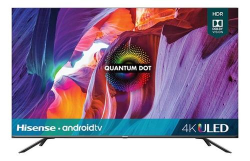 "Imagen 1 de 8 de Smart TV portátil Hisense H8G Quantum Series 55H8G ULED 4K 55"" 120V"