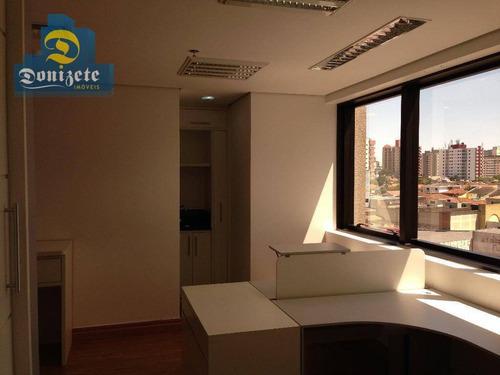Sala Para Alugar, 38 M² Por R$ 1.750,10/mês - Paraíso - Santo André/sp - Sa0601