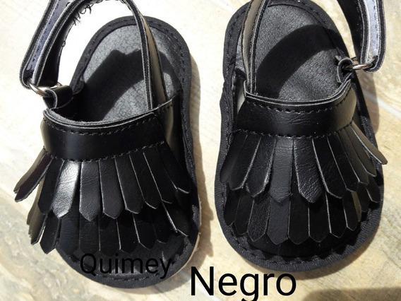 Sandalias No Caminantes Con Flecos Del 16 Al 19