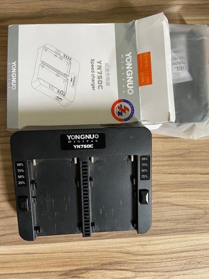 Carregador Duplo Yongnuo Yn750c Bateria Sony Np-f Original