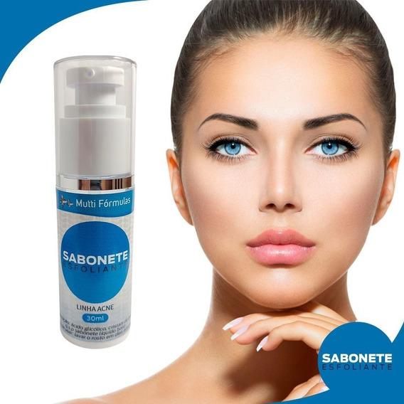 Sabonete Esfoliante C/ácido Glicólico Cristais Quartzo 30ml