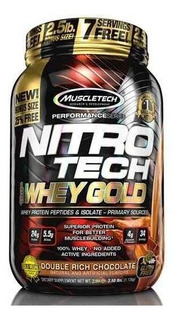 Proteina Nitro Tech Whey Gold 2,2 Lb Muscletech