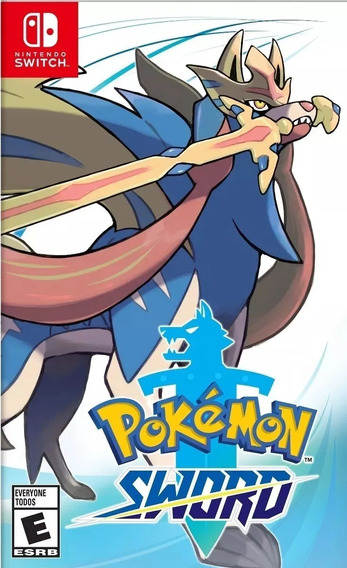 Jogo Pokémon Sword Nintendo Switch Mídia Física Lacrado