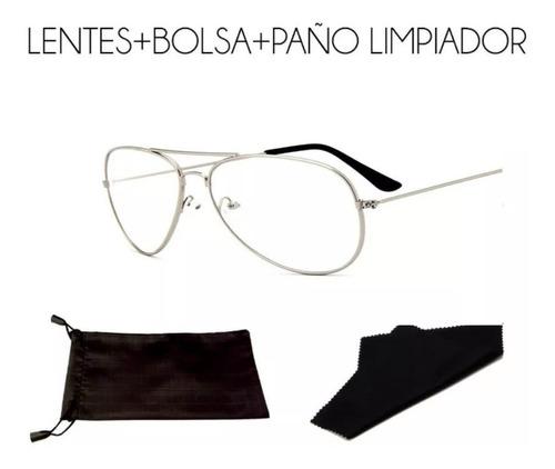 Gafas Estilo Piloto/aviador + Funda + Paño
