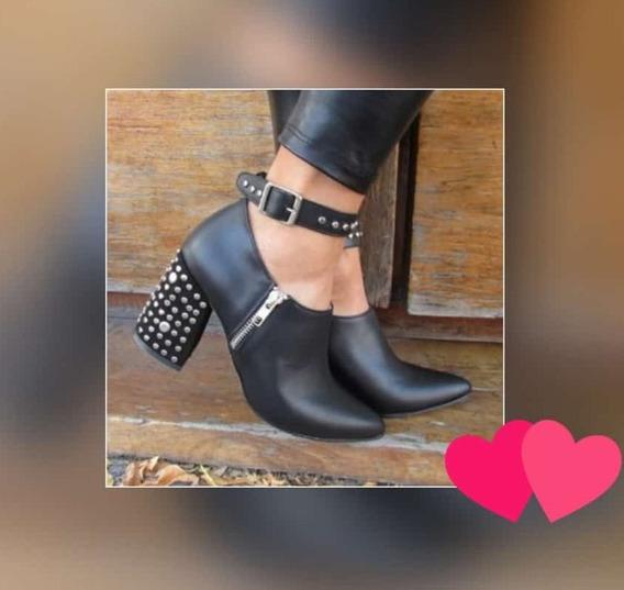 Zapatos De Mujer Talle 38 Negro Y 39 Negro O Rojo