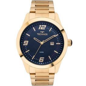 Relógio Masculino Technos Dourado Aço Oferta 2115mnz/4a Nota
