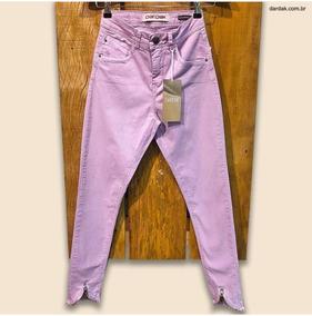 a4e4816eb Calca Jeans Cor De Rosa - Calças no Mercado Livre Brasil