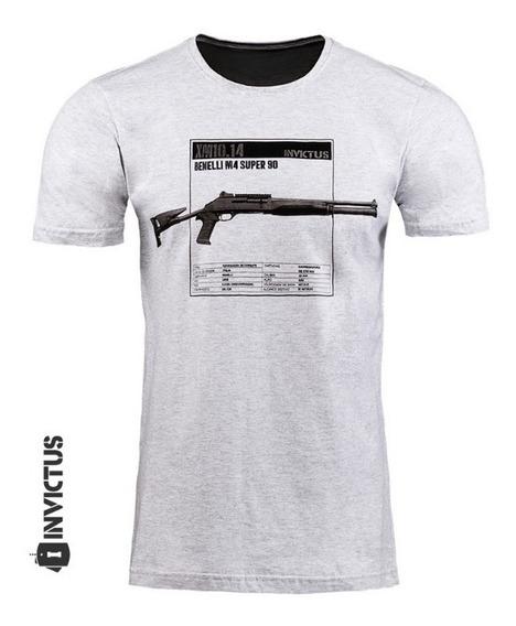 Camisa Masculina 100% Algodão Invicuts Concept Pump Original