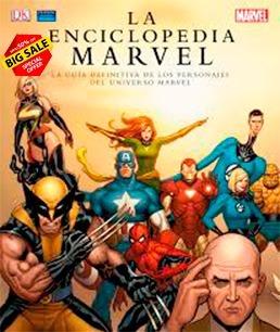 Enciclopedia Marvel Comic Digital Libro Vengadores Revista