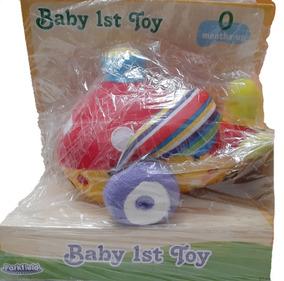 Aviãozinho De Pelúcia Primeiro Brinquedo Bebê First Steps