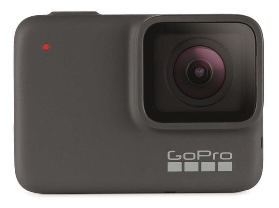 Câmera Digital Gopro Hero 7 Silver 10mp 4k30 33ft   Novo