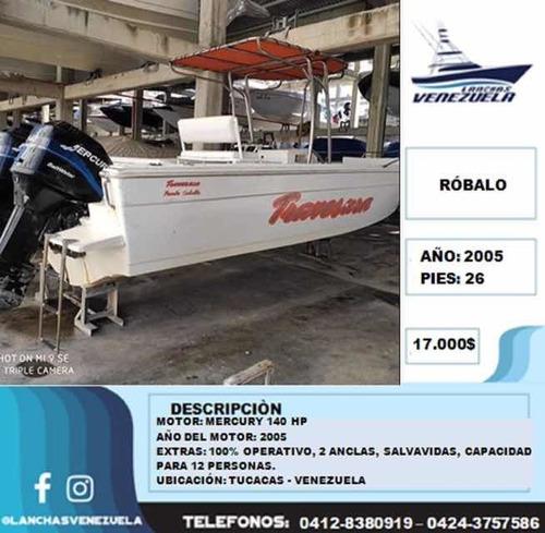 Lancha Robalo 26 Lv257