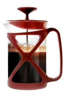Cafetera/prensa Francesa Primula Cap. De 6 Tazas Rojo