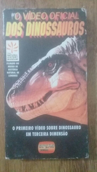 O Video Oficial Dos Dinossauros Vhs Raro