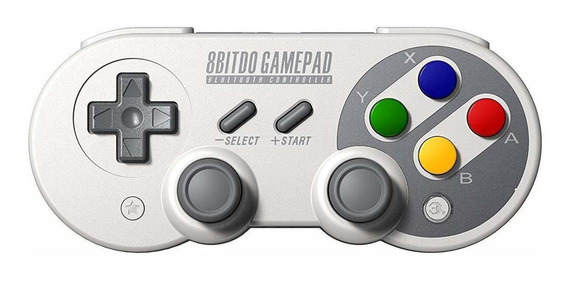 Controle joystick sem fio 8Bitdo SF30 Pro cinza