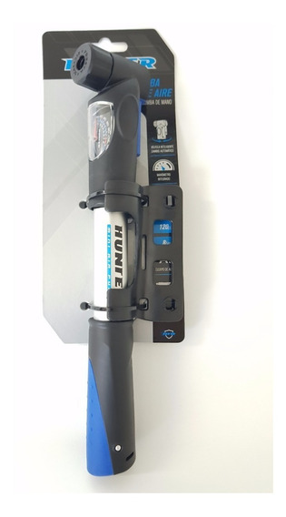 Bomba Aire Mini De Mano Aluminio Bicicleta Medidor Presión