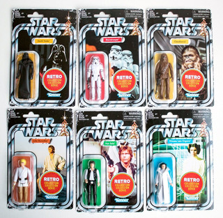 Star Wars Retro Collection 6 Figuras Vintage 1977