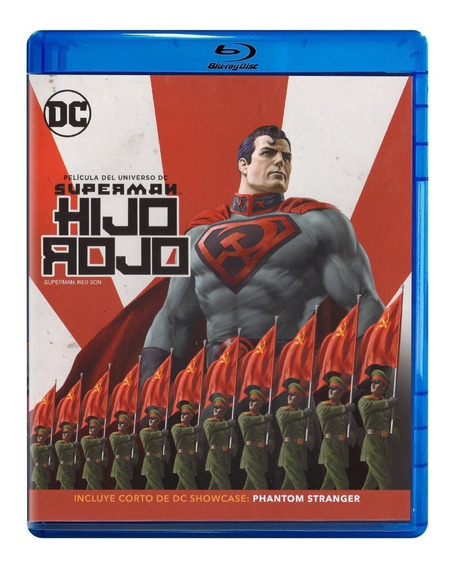 Superman Hijo Rojo Dc Universe Pelicula Blu-ray