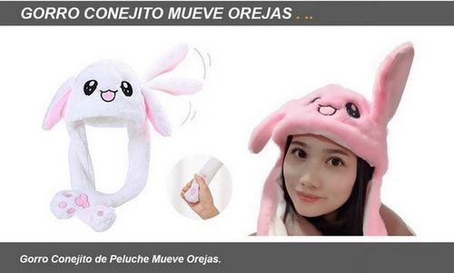 Imagen 1 de 4 de Peluche Gorro Conejo Mueve Orejas Ar1 301 Ellobo