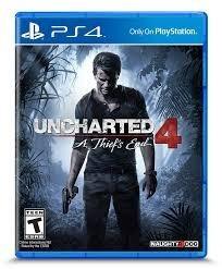 Uncharted 4 (ps4) - Midia Física - Frete Grátis
