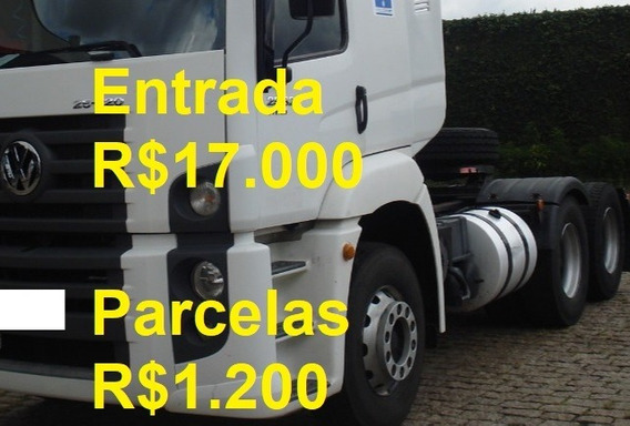 Volkswagen Vw 25320 Constellation 6x2 2011 Cavalo Truck