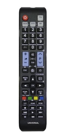 Controle Remoto Universal Tv Led Lcd Hitachi Toshiba Philips