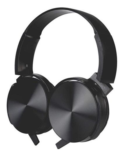 Fone De Ouvido Pisc 1896 Headphone Extra Bass Preto