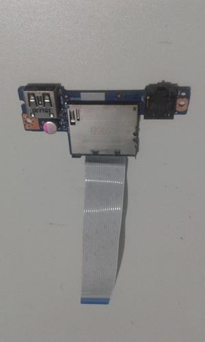 Imagem 1 de 2 de Placa Usb Audio Leitor De Cartão Lenovo G40-80