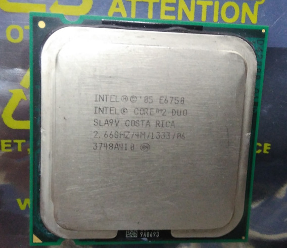 Processador Intel Core 2 Duo 775 E6750 2,66ghz\4mb\fsb1333