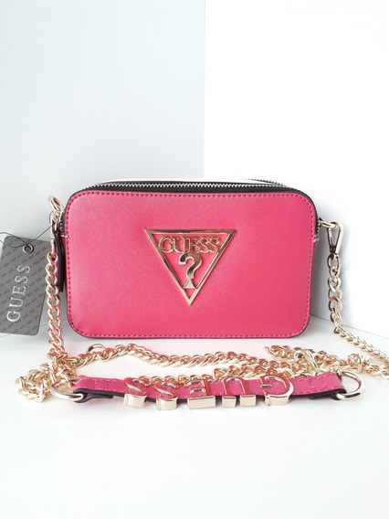 Bolsa Guess Carlina Crossbody Original Y Nueva