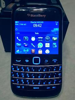 Celular Blackberry 9790 Black Pro Touch Con Caja Y Funda