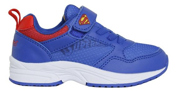 Zapatillas Topper C Moda Zurich Kids Superman Niño Az/rj