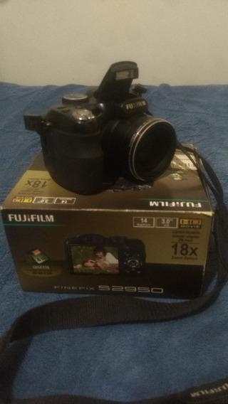 Câmera Fujifilm Finepix S2950 8gb Pilha Recarregável