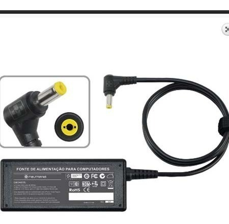 Carregador Notebook 19v 1.58a Plug. 4.0×1.7mm Hp 481