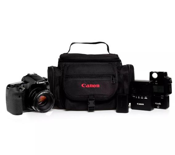 Bolsa Case Para Câmera, Reforçada, Toda Acolchoada..